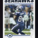 2004 Topps Football #072 Bobby Engram - Seattle Seahawks