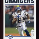 2004 Topps Football #071 Kassim Osgood - San Diego Chargers