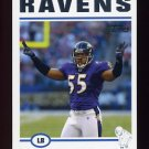 2004 Topps Football #062 Terrell Suggs - Baltimore Ravens