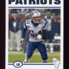 2004 Topps Football #037 Tedy Bruschi - New England Patriots