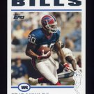 2004 Topps Football #019 Eric Moulds - Buffalo Bills