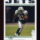 2004 Topps Football #002 Curtis Conway - New York Jets