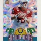 2002 Crown Royale Pro Bowl Honors #08 Peyton Manning - Indianapolis Colts
