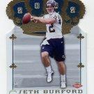 2002 Crown Royale Football #205 Seth Burford RC - San Diego Chargers