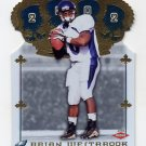 2002 Crown Royale Football #199 Brian Westbrook RC - Philadelphia Eagles