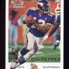 2000 Fleer Focus Football #196 Daunte Culpepper - Minnesota Vikings