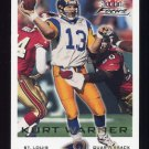 2000 Fleer Focus Football #194 Kurt Warner - St. Louis Rams