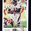 2000 Fleer Focus Football #182 Tony Banks - Baltimore Ravens