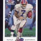 2000 Fleer Focus Football #179 Doug Flutie - Buffalo Bills