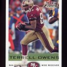 2000 Fleer Focus Football #175 Terrell Owens - San Francisco 49ers