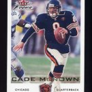 2000 Fleer Focus Football #173 Cade McNown - Chicago Bears