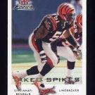 2000 Fleer Focus Football #170 Takeo Spikes - Cincinnati Bengals
