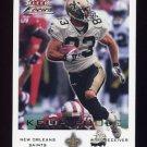 2000 Fleer Focus Football #165 Keith Poole - New Orleans Saints