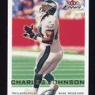 2000 Fleer Focus Football #143 Charles Johnson - Philadelphia Eagles