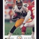 2000 Fleer Focus Football #140 Hines Ward - Pittsburgh Steelers