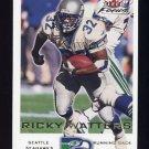 2000 Fleer Focus Football #137 Ricky Watters - Seattle Seahawks