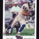 2000 Fleer Focus Football #127 Joe Jurevicius - New York Giants
