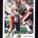 2000 Fleer Focus Football #125 Brad Johnson - Washington Redskins