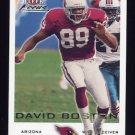 2000 Fleer Focus Football #122 David Boston - Arizona Cardinals