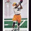 2000 Fleer Focus Football #120 Ahman Green - Green Bay Packers