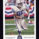 2000 Fleer Focus Football #117 Jerome Pathon - Indianapolis Colts