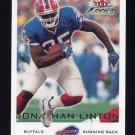 2000 Fleer Focus Football #113 Jonathan Linton - Buffalo Bills