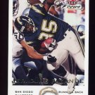 2000 Fleer Focus Football #112 Jermaine Fazande - San Diego Chargers