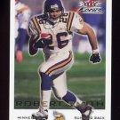 2000 Fleer Focus Football #105 Robert Smith - Minnesota Vikings