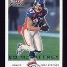 2000 Fleer Focus Football #092 Ed McCaffrey - Denver Broncos