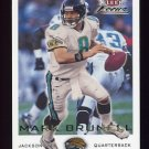 2000 Fleer Focus Football #086 Mark Brunell - Jacksonville Jaguars