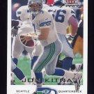 2000 Fleer Focus Football #081 Jon Kitna - Seattle Seahawks