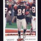 2000 Fleer Focus Football #076 Craig Yeast - Cincinnati Bengals