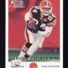 2000 Fleer Focus Football #073 Darrin Chiaverini - Cleveland Browns