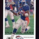 2000 Fleer Focus Football #070 Olandis Gary - Denver Broncos