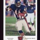 2000 Fleer Focus Football #051 Curtis Enis - Chicago Bears