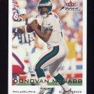2000 Fleer Focus Football #050 Donovan McNabb - Philadelphia Eagles
