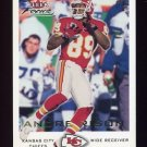 2000 Fleer Focus Football #043 Andre Rison - Kansas City Chiefs