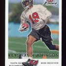 2000 Fleer Focus Football #038 Keyshawn Johnson - Tampa Bay Buccaneers