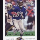 2000 Fleer Focus Football #023 Qadry Ismail - Baltimore Ravens