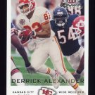 2000 Fleer Focus Football #021 Derrick Alexander - Kansas City Chiefs