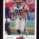 2000 Fleer Focus Football #014 Corey Dillon - Cincinnati Bengals