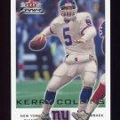 2000 Fleer Focus Football #006 Kerry Collins - New York Giants