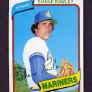 1980 Topps Baseball #723 Shane Rawley - Seattle Mariners