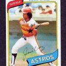 1980 Topps Baseball #722 Jose Cruz - Houston Astros Ex