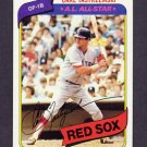 1980 Topps Baseball #720 Carl Yastrzemski - Boston Red Sox NM-M
