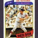 1980 Topps Baseball #720 Carl Yastrzemski - Boston Red Sox Vg