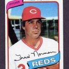 1980 Topps Baseball #714 Fred Norman - Cincinnati Reds