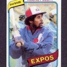 1980 Topps Baseball #712 Rodney Scott - Montreal Expos NM-M
