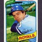 1980 Topps Baseball #705 Freddie Patek - Kansas City Royals