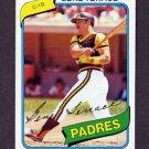 1980 Topps Baseball #704 Gene Tenace - Oakland A's ExMt